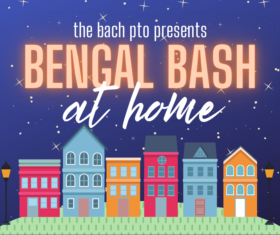 Bengal Bash graphic - a night at home