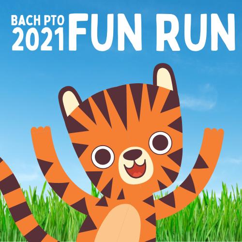 Bach Fun Run Bengal Tiger